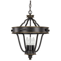 Wyatt 3 Light 14 inch Surrey Dual Mount Foyer Ceiling Light