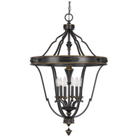 Capital Lighting Wyatt 6 Light Foyer Pendant in Surrey 9002SY