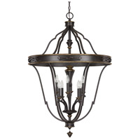 Capital Lighting Wyatt 8 Light Foyer Pendant in Surrey 9003SY