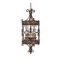 Capital Lighting Squire 6 Light Foyer in Crusted Umber 9026CU photo thumbnail