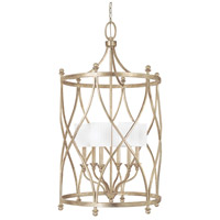 Fifth Avenue 6 Light 26 inch Winter Gold Foyer Ceiling Light