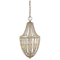 Capital Lighting Fifth Avenue 2 Light Pendant in Winter Gold 9172WG