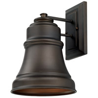 Signature 1 Light 14 inch Old Bronze Outdoor Wall Lantern in Incandescent