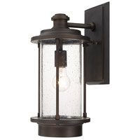 Grant Park 1 Light 17 inch Old Bronze Outdoor Wall Lantern in Incandescent