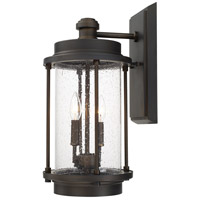 Grant Park 2 Light 20 inch Old Bronze Outdoor Wall Lantern in Incandescent