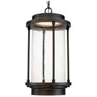 Grant Park LED 13 inch Old Bronze Outdoor Hanging Lantern