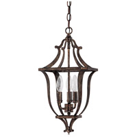 Capital Lighting 9181RT Corday 3 Light 12 inch Rustic Foyer Ceiling Light photo thumbnail