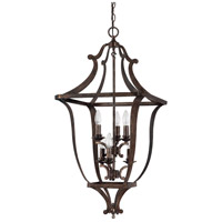 Capital Lighting 9182RT Corday 6 Light 23 inch Rustic Foyer Ceiling Light