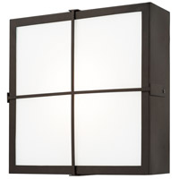 Signature LED 12 inch Old Bronze Outdoor Wall Lantern