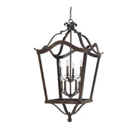 Capital Lighting Signature 8 Light Foyer in Chesterfield Brown 9193CB
