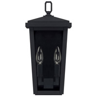Capital Lighting 926221BK Donnelly 2 Light 15 inch Black Outdoor Wall Lantern