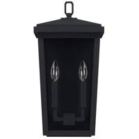 Capital Lighting 926222BK Donnelly 2 Light 18 inch Black Outdoor Wall Lantern