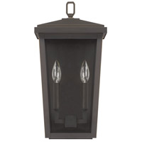 Capital Lighting 926222OZ Donnelly 2 Light 18 inch Oiled Bronze Outdoor Wall Lantern