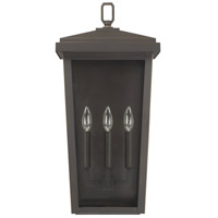 Capital Lighting 926232OZ Donnelly 3 Light 24 inch Oiled Bronze Outdoor Wall Lantern