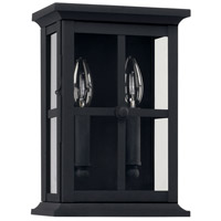 Capital Lighting 926421BK Mansell 2 Light 11 inch Black Outdoor Wall Mount