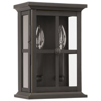 Capital Lighting 926421OZ Mansell 2 Light 11 inch Oiled Bronze Outdoor Wall Lantern