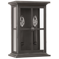 Capital Lighting 926422OZ Mansell 2 Light 14 inch Oiled Bronze Outdoor Wall Lantern
