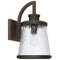 Capital Lighting 926512OZ Tory 1 Light 17 inch Oiled Bronze Outdoor Wall Lantern