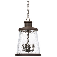 Tory 4 Light 13 inch Oiled Bronze Outdoor Hanging Lantern
