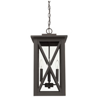 Avondale 4 Light 11 inch Oiled Bronze Outdoor Hanging Lantern