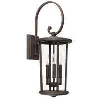 Capital Lighting 926731OZ Howell 3 Light 26 inch Oiled Bronze Outdoor Wall Lantern