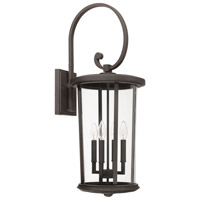 Capital Lighting 926741OZ Howell 4 Light 32 inch Oiled Bronze Outdoor Wall Mount