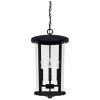 Capital Lighting 926742BK Howell 4 Light 12 inch Black Outdoor Hanging Lantern