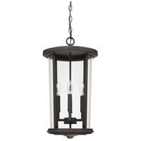 Capital Lighting 926742OZ Howell 4 Light 12 inch Oiled Bronze Outdoor Hanging Lantern