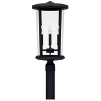 Capital Lighting 926743BK Howell 4 Light 23 inch Black Outdoor Post Lantern