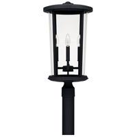 Capital Lighting 926743BK Howell 4 Light 23 inch Black Outdoor Post Lantern