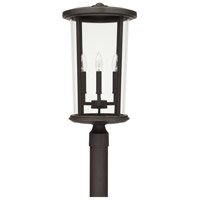 Capital Lighting 926743OZ Howell 4 Light 23 inch Oiled Bronze Outdoor Post Lantern