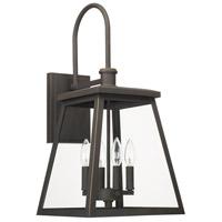 Capital Lighting 926841OZ Belmore 4 Light 24 inch Oiled Bronze Outdoor Wall Lantern