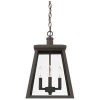 Belmore 4 Light 12 inch Oiled Bronze Outdoor Hanging Lantern