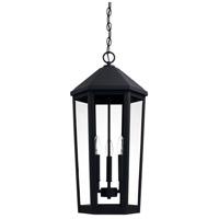 Capital Lighting 926933BK Ellsworth 3 Light 13 inch Black Outdoor Hanging Lantern