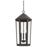 Capital Lighting 926933OZ Ellsworth 3 Light 13 inch Oiled Bronze Outdoor Hanging Lantern