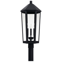 Capital Lighting 926934BK Ellsworth 3 Light 28 inch Black Outdoor Post Lantern