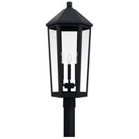 Capital Lighting 926934BK Ellsworth 3 Light 28 inch Black Outdoor Post Lantern