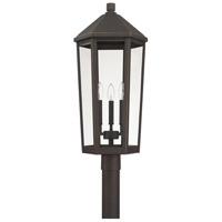 Capital Lighting 926934OZ Ellsworth 3 Light 28 inch Oiled Bronze Outdoor Post Lantern