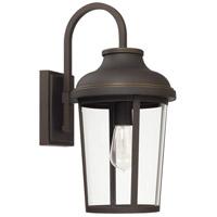 Capital Lighting 927011OZ Dunbar 1 Light 18 inch Oiled Bronze Outdoor Wall Lantern