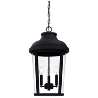 Dunbar 3 Light 13 inch Black Outdoor Hanging Lantern
