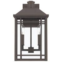 Capital Lighting 927121OZ Braden 2 Light 17 inch Oiled Bronze Outdoor Wall Lantern
