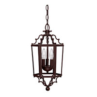 Capital Lighting Signature 3 Light Foyer Pendant in Mediterranean Bronze 9273MZ