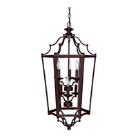 Capital Lighting Signature 6 Light Foyer Pendant in Mediterranean Bronze 9274MZ