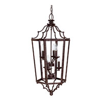 Capital Lighting Signature 6 Light Foyer in Tortoise 9274TS