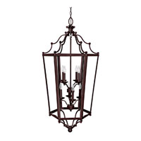 Capital Lighting Signature 8 Light Foyer Pendant in Mediterranean Bronze 9276MZ
