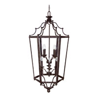 Capital Lighting Signature 8 Light Foyer in Tortoise 9276TS