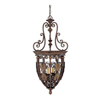 Capital Lighting Forrest Lake 4 Light Foyer in Gilded Umber 9284GU