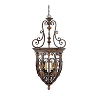 Capital Lighting Forrest Lake 6 Light Foyer in Gilded Umber 9286GU