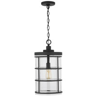 Capital Lighting 929412BK-478 Elijah 1 Light 10 inch Black Outdoor Hanging