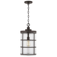 Capital Lighting 929412OZ-478 Elijah 1 Light 10 inch Oiled Bronze Outdoor Hanging